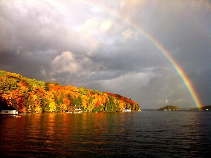 Lake Winnipesaukee in New Hampshire is my favorite place in the summer time.  Absolutely <3 it!!
