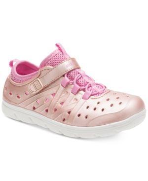 Stride Rite M2P Phibian Shoes, Little Girls (11-3) & Big Girls (3.5-7) - Gold 13
