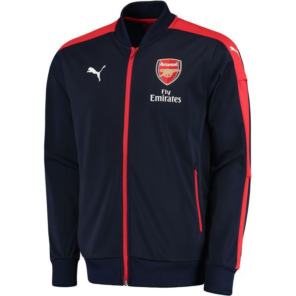 Arsenal Puma 2016 Stadium Full-Zip Jacket - Navy - Fanatics.com