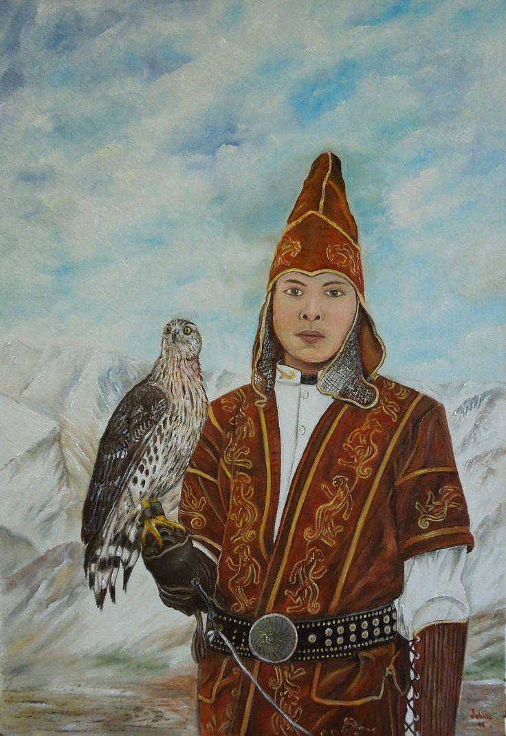 The falconer (Kazakh) - 35x50 - ottobre 2015