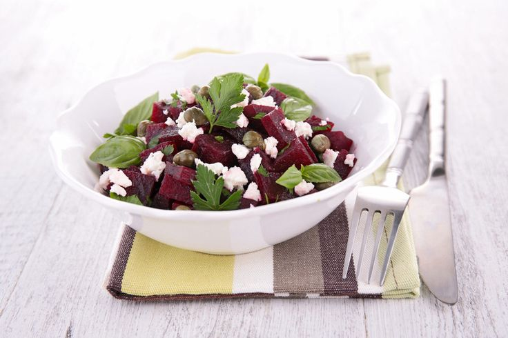 #HappyEaster #Easterdinner  Try this tasty #Beet Root Salad Recipe with Feta Cheese and Raspberry Dressing