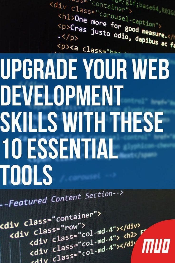 Upgrade Your Web Development Skills With These 10 Essential Tools In 2020 With Images Web Development Tools Web Development Learn Web Development