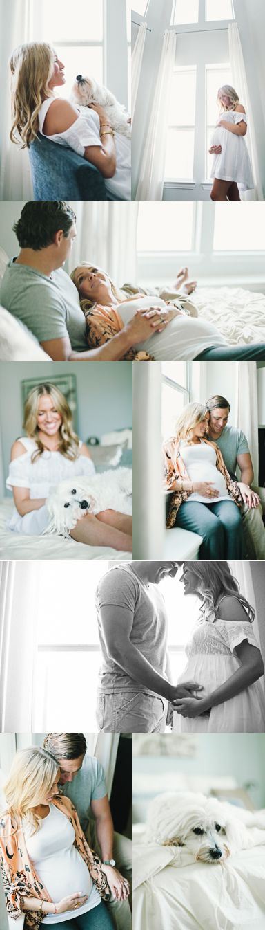 in-home maternity photos | zoe dennis photography http://zoedphotography.com/blog/puppy-love-in-home-maternity-photos-in-grapevine/