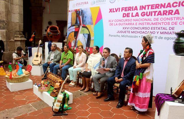 Paracho, Michoacán.- Con el objetivo de impulsar …