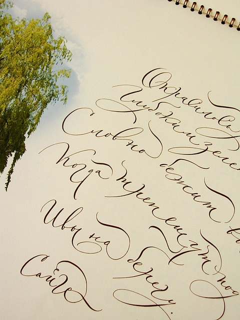 Images about russian calligraphy on pinterest