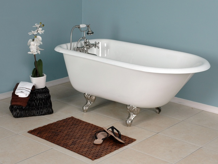 vintage style classic claw foot bathtub brewski pinterest vintage style bathtubs and classic. Black Bedroom Furniture Sets. Home Design Ideas