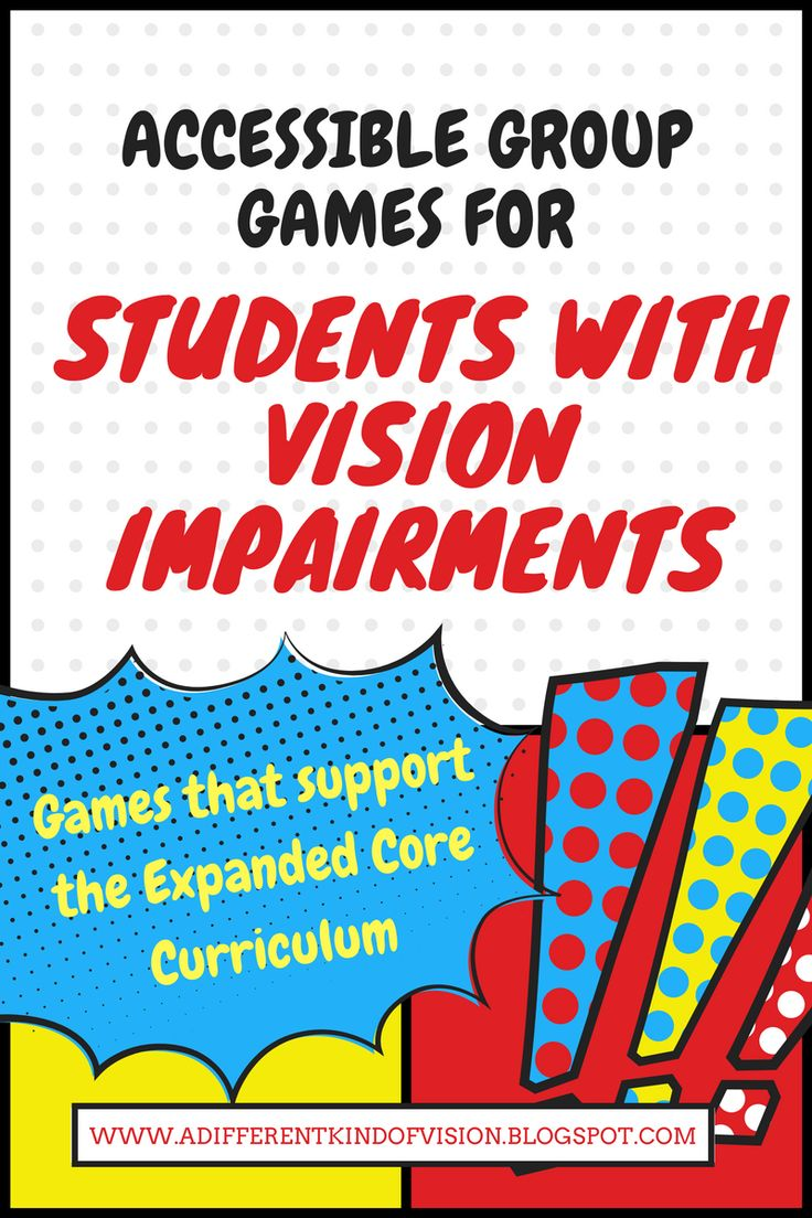 I've posted another list of accessible group games/teambuilding activities and ice breakers that are easily played for students with vision impairments. These games all support the Expanded Core and require little equipment.