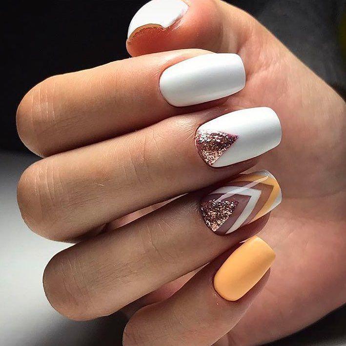 269 best White nails images on Pinterest | Gel nail, Nail art ...