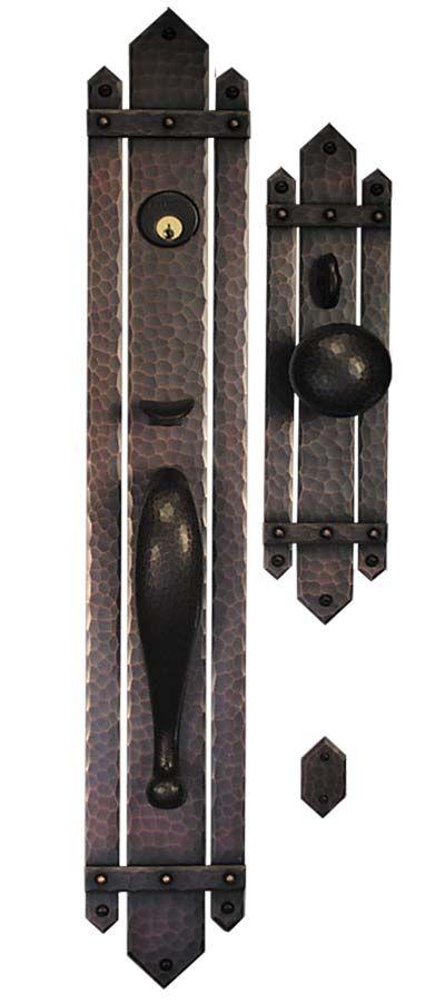 Best 25 exterior door hardware ideas on pinterest for Arts and crafts exterior door hardware