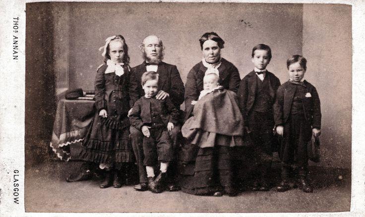 Thomas Annan - Scottish Family, 1859