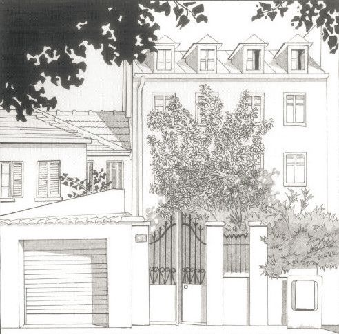 Maison rue Danton au Kremlin Bicêtre dans le Val de Marne