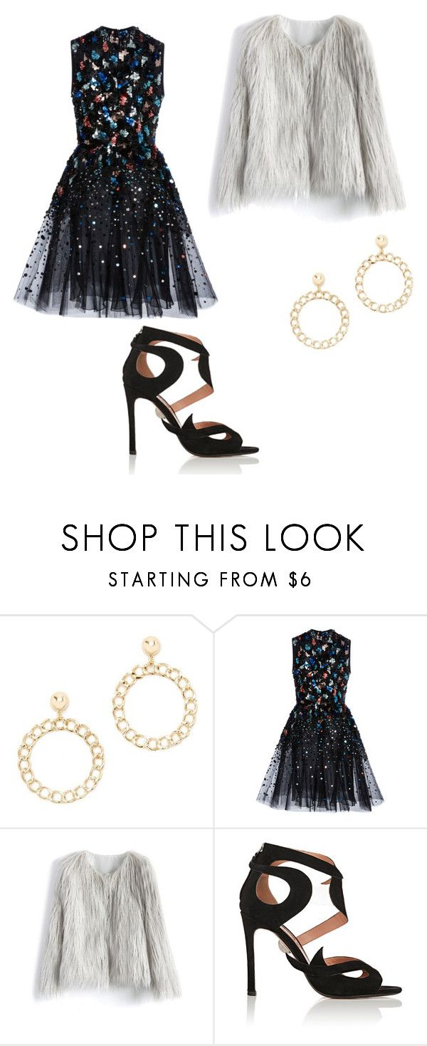 """""""Untitled #325"""" by denysa-boldog on Polyvore featuring Forever 21, Elie Saab, Chicwish and Samuele Failli"""