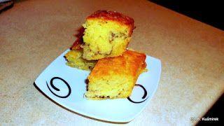 Ciasteczkowy potwór: Ciasto z brzoskwiniami