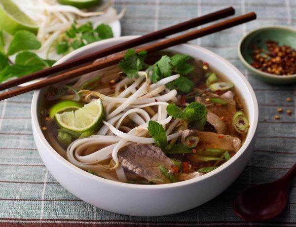 The Popular And The Delicious Vietnamese Beef And Pho Bo