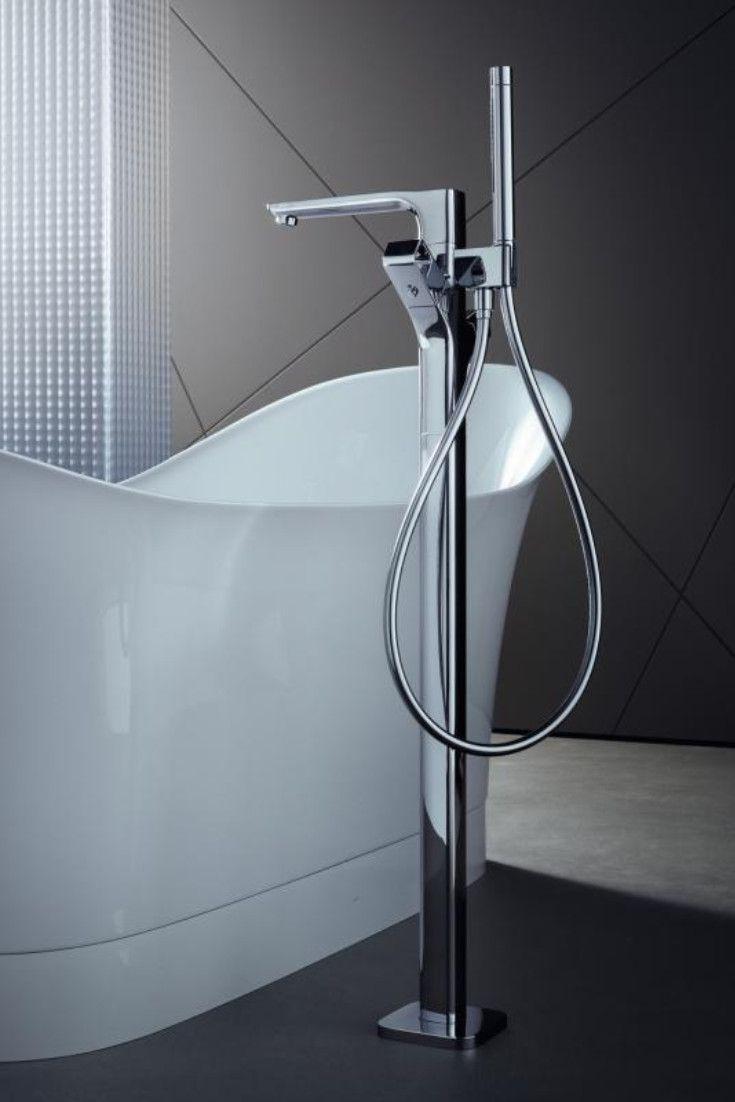 Axor Urquiola Die Bodenstehende Wannenarmatur Aus Der Serie Urquiola Von Axor Strahlt Erhabenheit Aus Entscheiden Sie Sich F Bathtubs Badewannen In 2019
