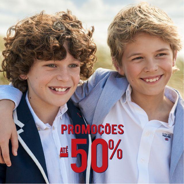 If you Like it Wear it l Boy Collection Promoções até -50% Spring Summer Collection www.lionofporches.pt