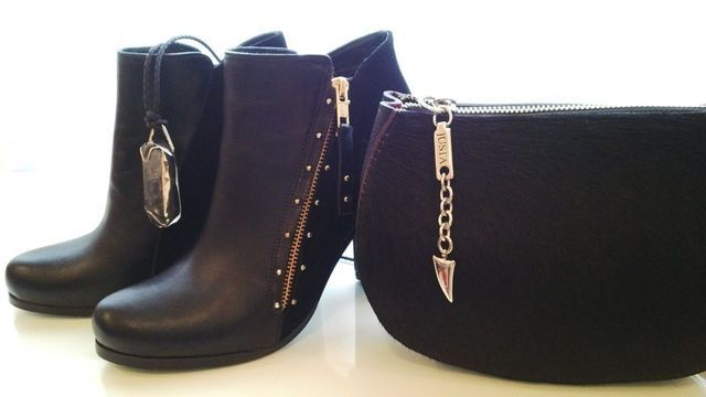 my new boots and bag!