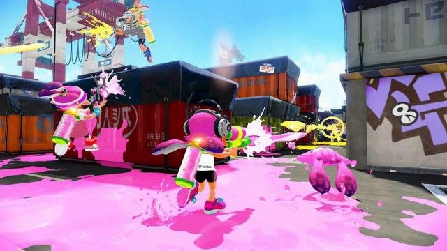 Splatoon update bringing Nintendo Zapper, new map, and ranked play