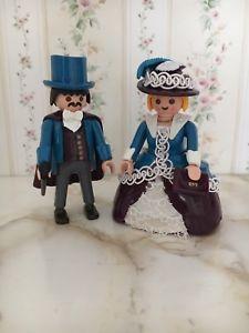 Playmobil Custom Victorian Couple Nostalgisches Pärchen Unikat | eBay
