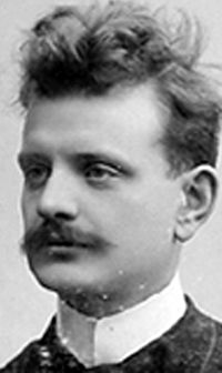 Jean Sibelius, around 1890s.
