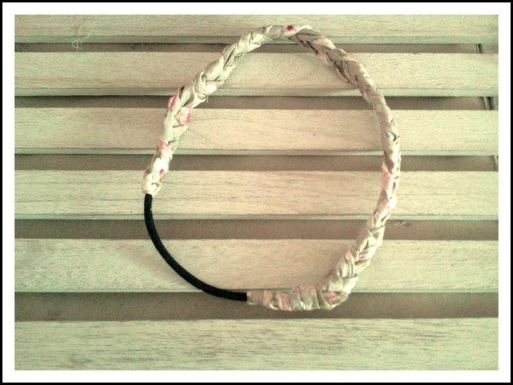 Headband, DIY ! avec du Liberty