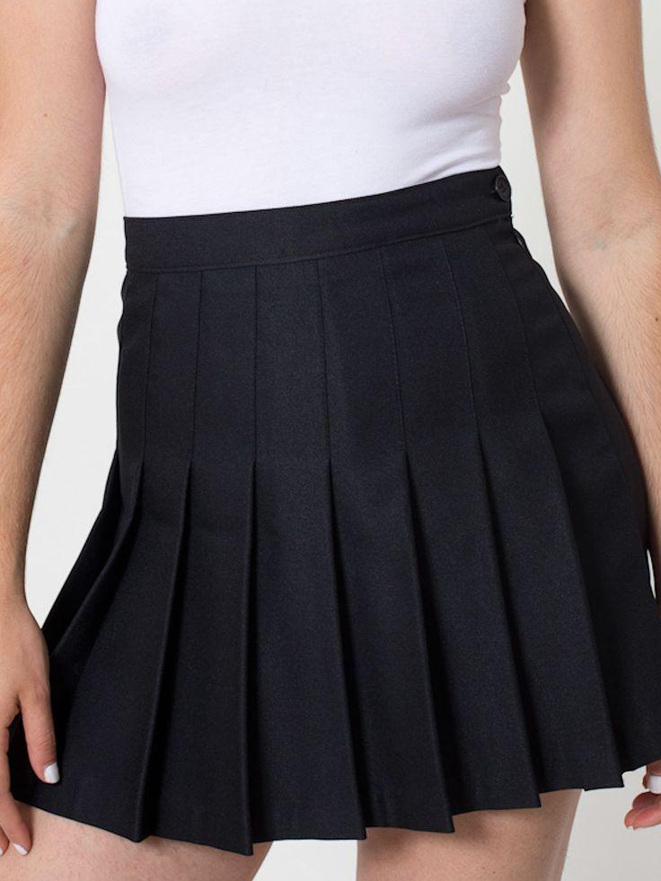 american apparel black tennis skirt.