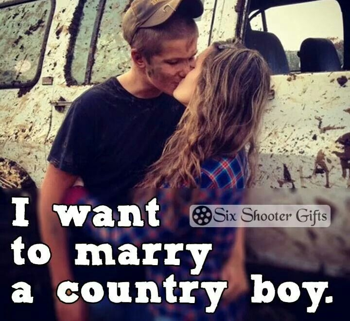 Every country girls dream