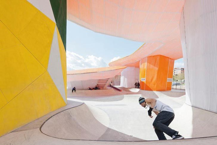 One of the most beautiful skate parks in the world: Youth Factory – Lusitania, Spain