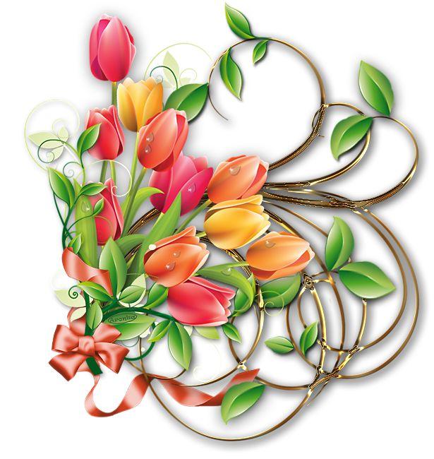Velikonoční dekorace kytičková | ve-aronky