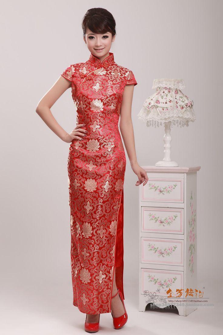 Cheongsam wedding cheongsam dress dress picture fashion spring fashion dresses the bride chinese culture hanfu ao dai