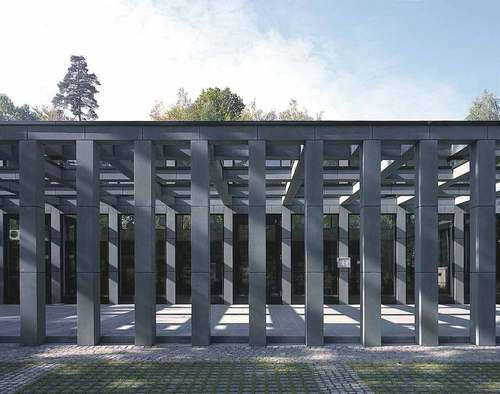 Eberswalde, Germany Cafeteria Of The Center Of Authorities Max Dudler Architekt