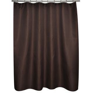 Soho Waffle Brown Shower Curtain
