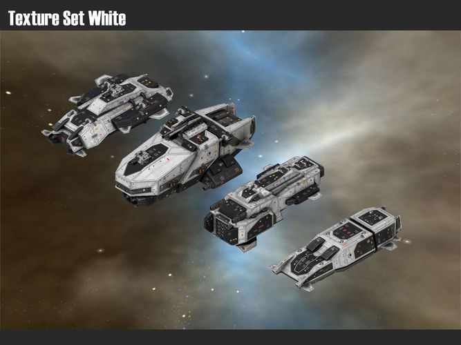 destroyers 3d model low-poly obj fbx 14   Ships of Space in