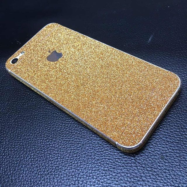 #iPhone #5S Shining Gold #skinz