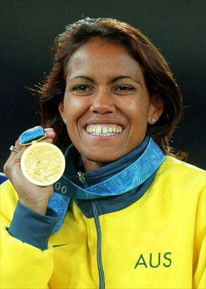 Cathy Freeman- Olympic Athlete (Gold Medallist) and Australian of the Year (1998)