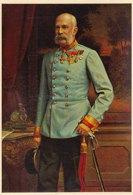Kaiser Franz Josef I. von Österreich, Emperor of Austria, King of Hungary by Miss Mertens, via Flickr