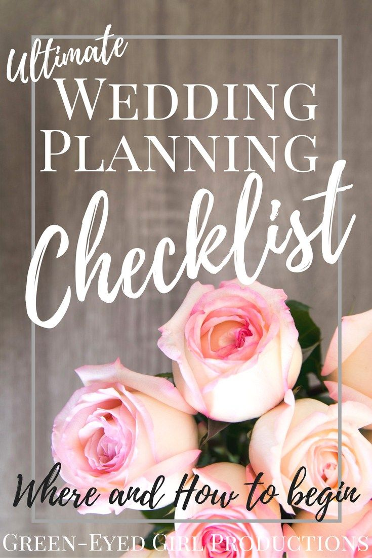 The Ultimate Wedding Planning Checklist PDF Download