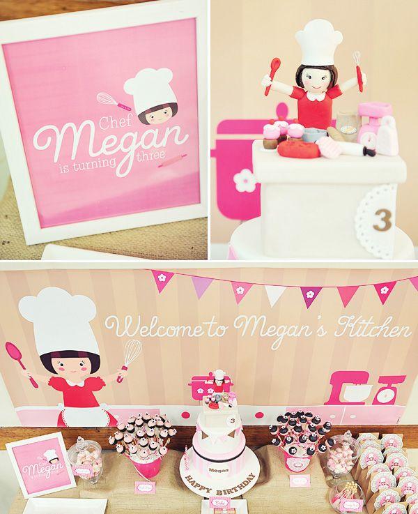 pink-vintage-baking-party