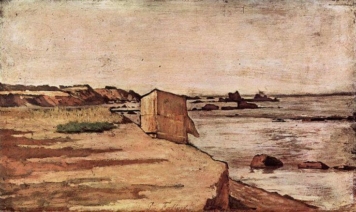 Giovanni Fattori - Capanna su una spiaggia
