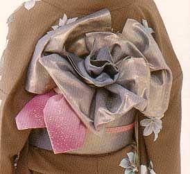 rosethumb   Rose Musubi From きものの着つけ―おしゃれに装う着つけと帯結び ISBN 4-8…   Flickr