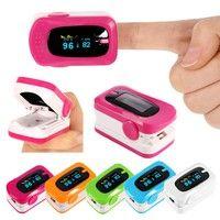 Wish | Digital Finger Pulse Oximeter Blood Pressure Monitor Heart Rate Oximetro Portable Diagnostic-Tool Medical Equipment
