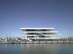 David Chipperfield: The America's Cup building 'Veles e Vents' in Valencia, Spain
