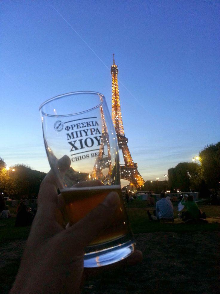 Chios Bière à Paris !!!