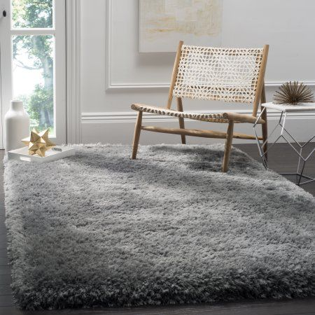 Home Polyester Rugs Grey Rug