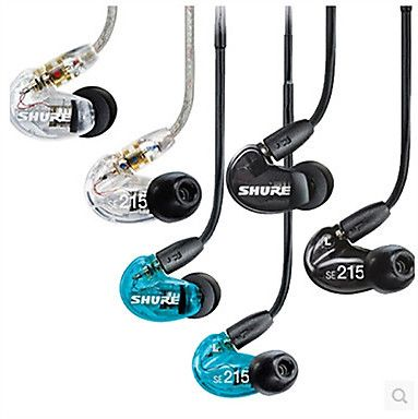 Original SE215 Wired 3.5MM Hi-fi Stereo Headphones Professional Concert Earphone Noise Isolate Bass For Iphone 6 / 6Plus 3904612 2016 – $49.99