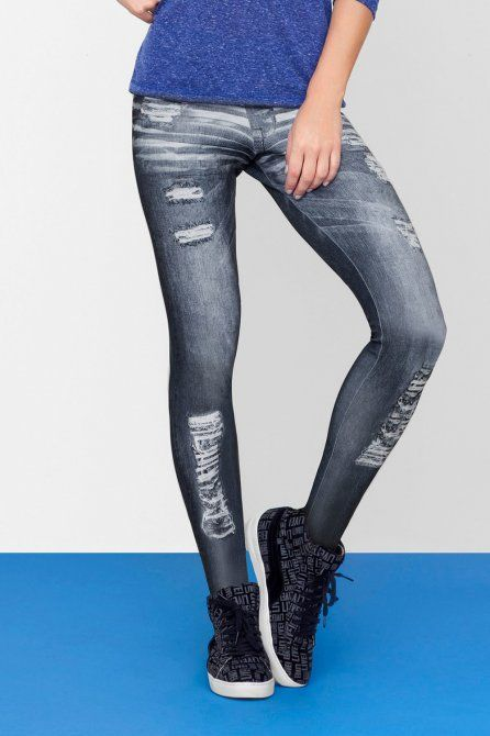 FUSÔ NEO DENIM • LIVE! • #shoponline #urbanlife #fitness #legging #denim #jeans