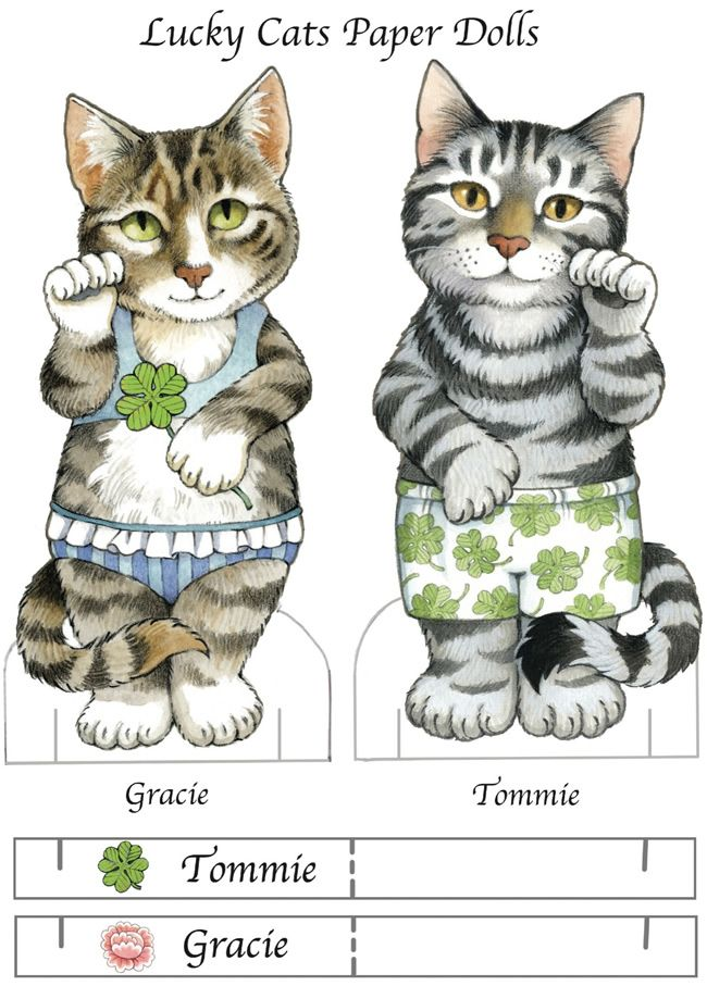 The Lucky Cat paper dolls. See book and costumes in other pins on this same board. Book from Dover Publications