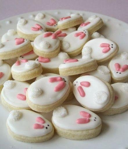 Cute  bunny cookies