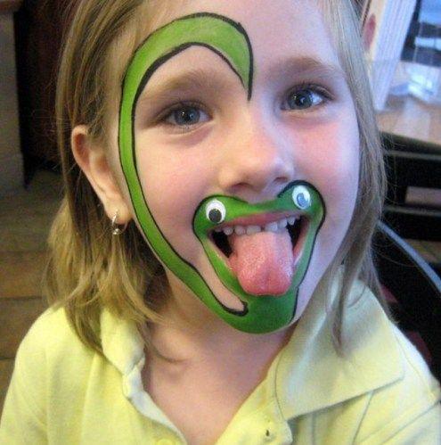 cobra-fantasia-de-ultima-hora_mais-de-50-ideias-para-pintura-facial-infantil