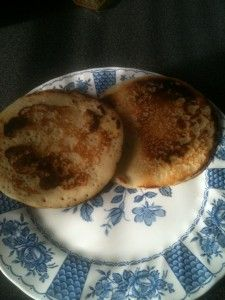 Best gluten free pancakes I have ever had! Add cinnamon syrup and they taste like Disney!!